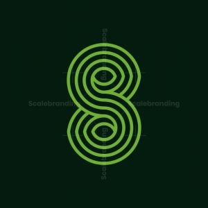 S Line Leaves Logo