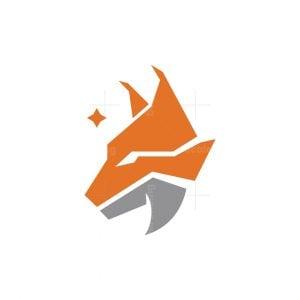 Stylish Lynx Logo