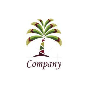 Stylized Palm Tree Logo