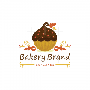 Sweet Acorn Cupcakes Logo