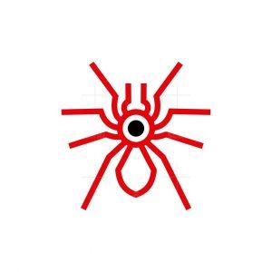 Minimalist Tarantula Logo