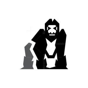 Gorilla Logo Ground Silverback Gorilla Logo