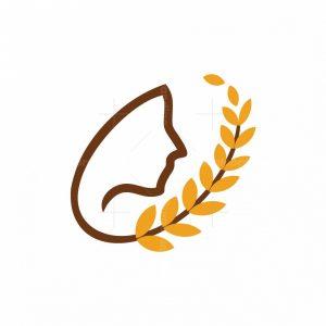 Wheat Food Logo