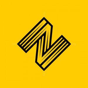 Letter Z Or N Logo