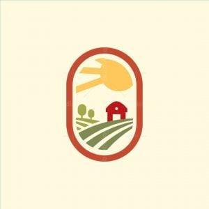 Vintage Badge Farm Logo