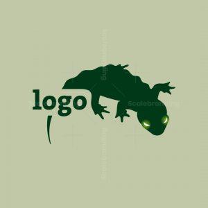 Gecko Lizard Logo