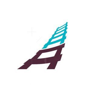 Letter A Ladder Logo