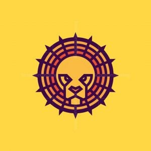 Lion With Halo Logo