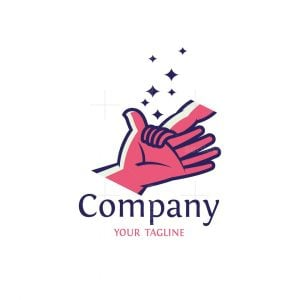 Parent With Baby Hand Logo