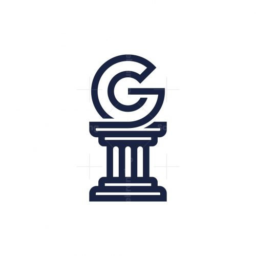 Greek Letter G Logo