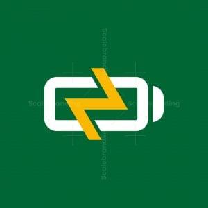 Battery Letter N Logo