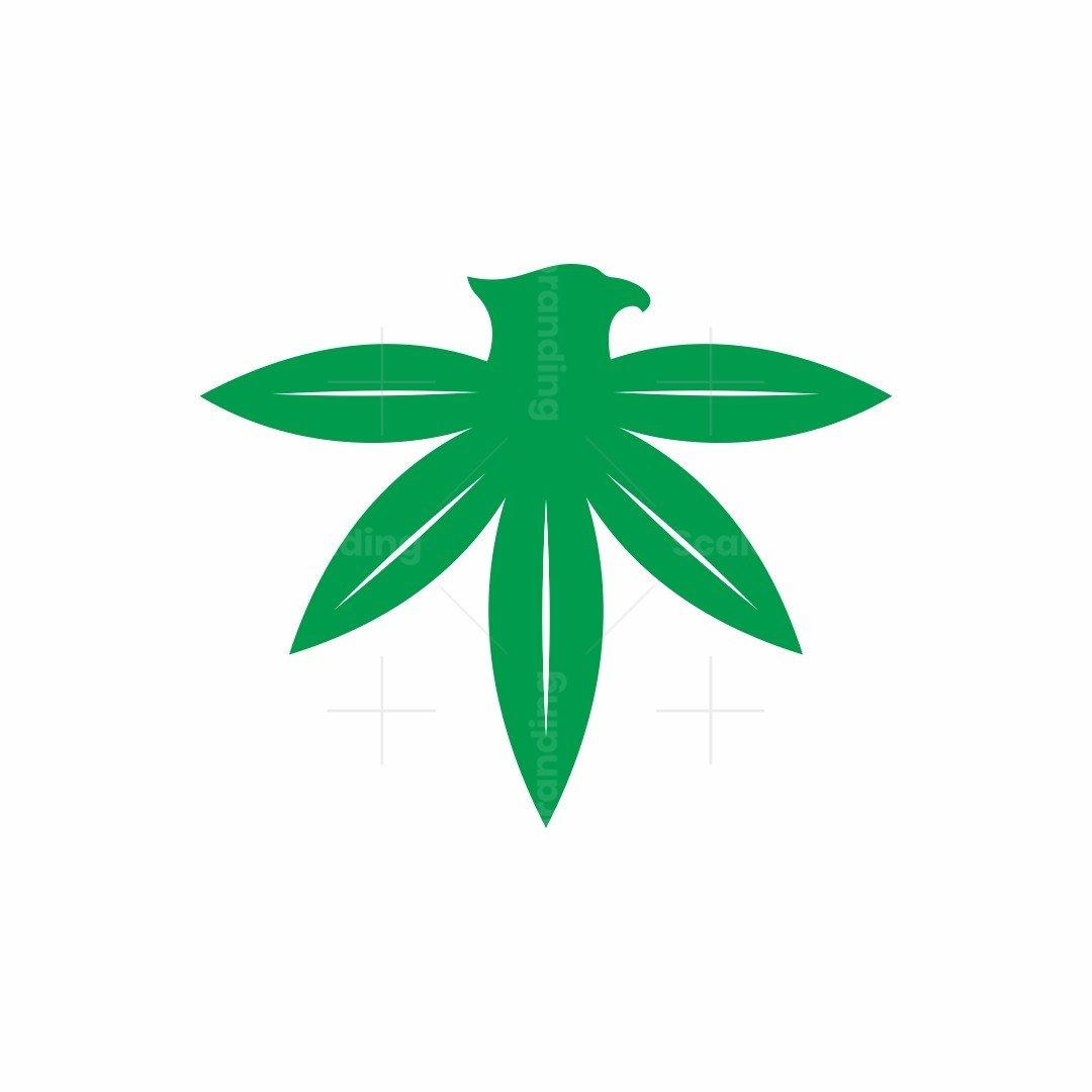 Cannabis Eagle Logo