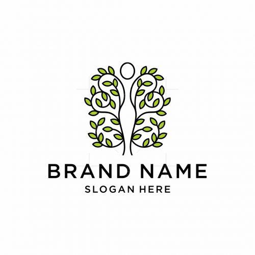Woman Nature Health Logo