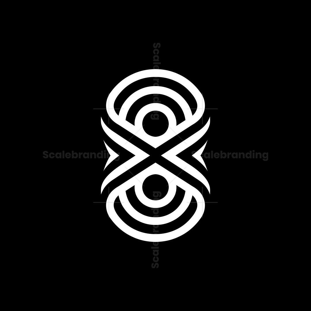 8x Or X8 Number Logos