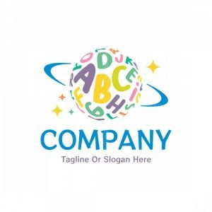 Letter Planet Logo