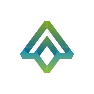 Abstract Arrows Logo