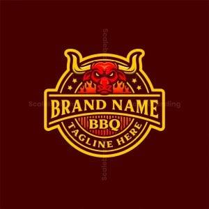 Bbq Bull Logo