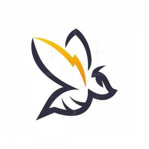 Bee Lightning Logo