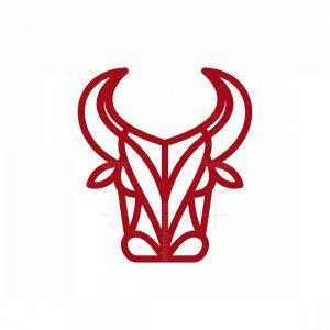 Bull Line Head Logo