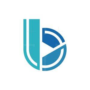 B Letter Tech Logo