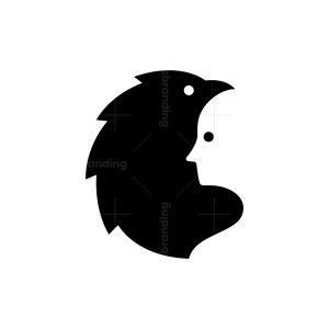 Bird And Human Logo