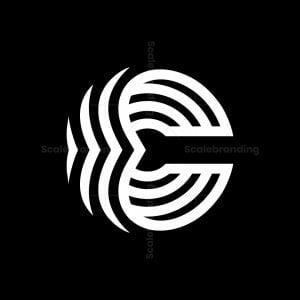 C Or E Letter Logos