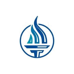 Capital Torch Logo