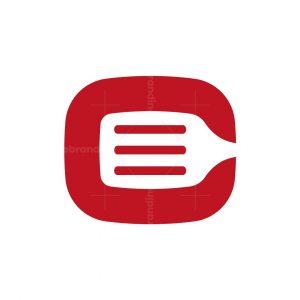 Cooking Letter C Logo