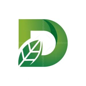 D Letter Nature Logo