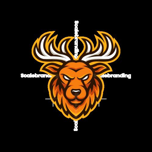 Deer Esport Mascot Logo
