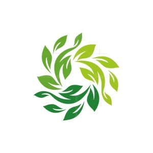 Leaves Rotation Logo