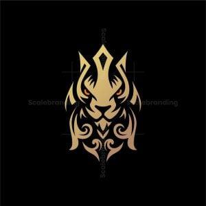 Elegant King Lion Logo