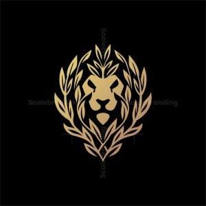 Elegant Nature Lion Head Logo