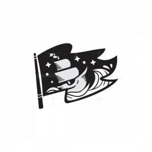 Flag Ship Wave Logo