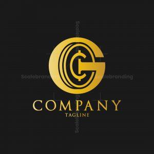 Golden Coin Logo