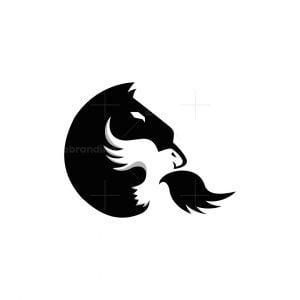 Horse And Eagle Logo
