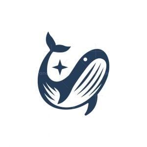 Iconic Whale Logo