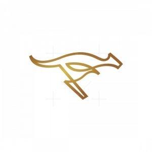 Elegant Kangaroo Logo