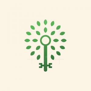 Key Leaves Logo