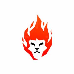 Lion Fire Logo