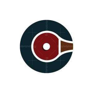 Letter C Ping Pong Logo