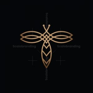 Elegant Bee Logo