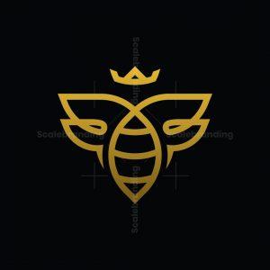 Honey Bee Queen Logo