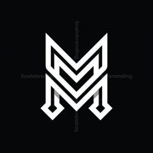 Letter M Or Mm Logo