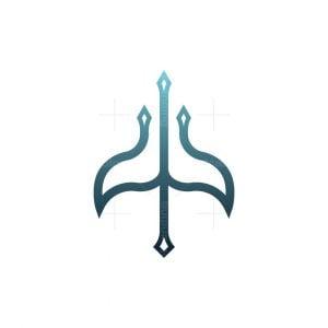 Whale Trident Logo