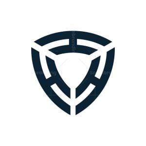 Triple H Shield Logo
