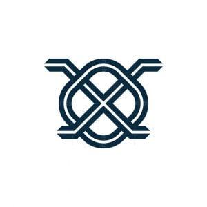 Letter X Ant Logo