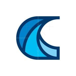 Letter C Aperture Logo