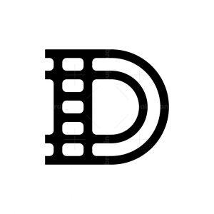 Letter D Or Dd Film Logo