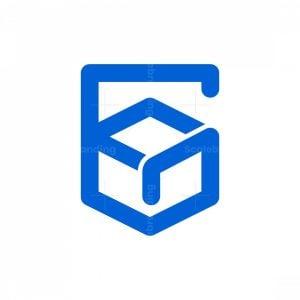 Letter G Guard Box Logo